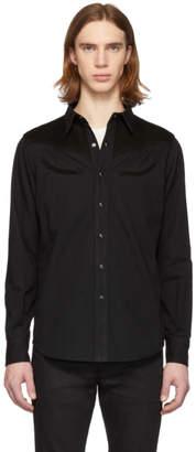 Saint Laurent Black Denim Western Shirt