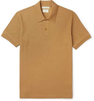 Bottega Veneta Cotton-Pique Polo Shirt - Men - Tan