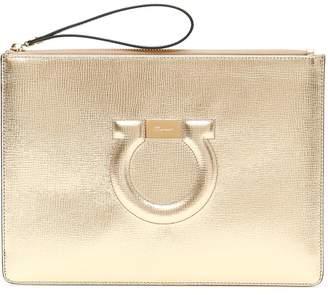 Salvatore Ferragamo Black Calfskin Leather Bags For Women - ShopStyle UK f056b99e94e09