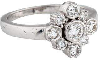 Kwiat 18K Diamond Petal Ring