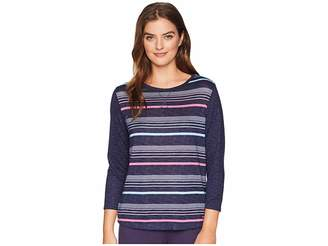 Nautica Striped Pullover Top
