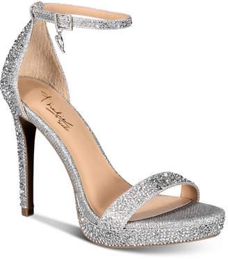 Thalia Sodi Women Lissy Platform Evening Sandals, Women Shoes