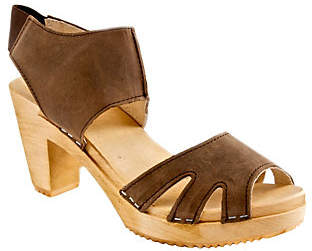 Cape Clogs Leather Sandals - Sonja