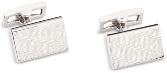 Ryan Seacrest Distinction Men's Plaid-Textured Cuff Links, Created for Macy's