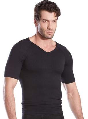 Generic Men's Slim And Tight Body Shaper V-neck Compression Shirt