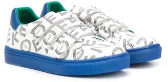 Kenzo logo print sneakers