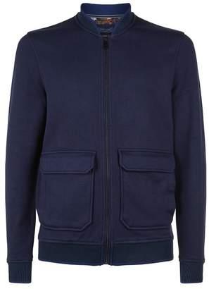 Ted Baker Cadbir Knitted Bomber Jacket