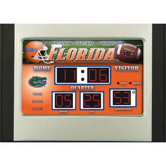 NCAA Team Sports America Scoreboard Desk Clock Team: Alabama