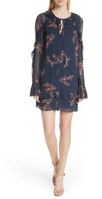 Derek Lam 10 Crosby Ikebana Floral Cluster Dress