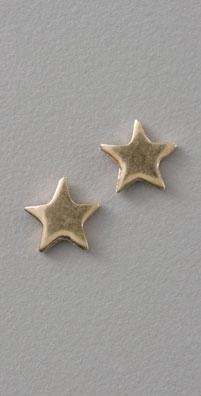 St. Kilda Gold Lil Star Studs