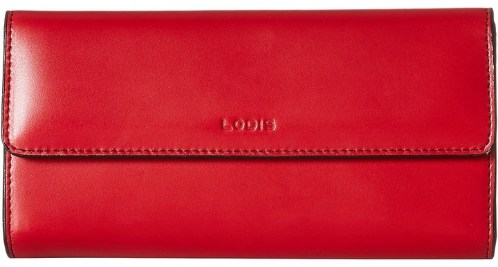 Lodis Audrey Checkbook Clutch Wallet Handbags