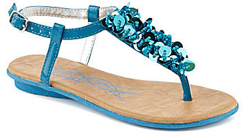 Kenneth Cole Reaction Girls' Sweet Keep T-Strap Sandals