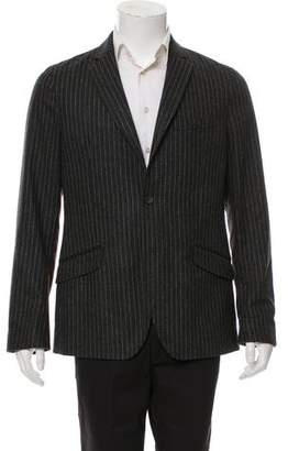 Dolce & Gabbana Virgin Wool Pinstriped Blazer