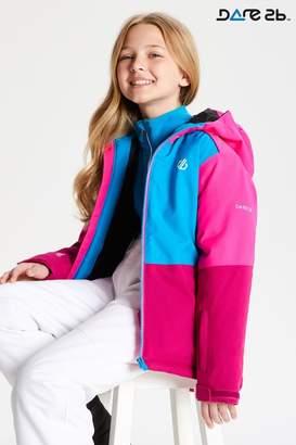Dare 2b Boys Aviate Waterproof And Breathable Ski Jacket - Pink