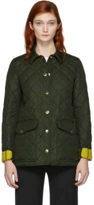 Burberry Green Westbridge Jacket