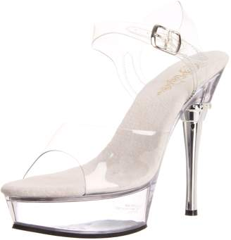 Pleaser USA Women's Allure-608/C/M Platform Sandal