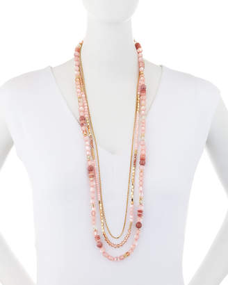 Lydell NYC Long Multi-Strand Necklace