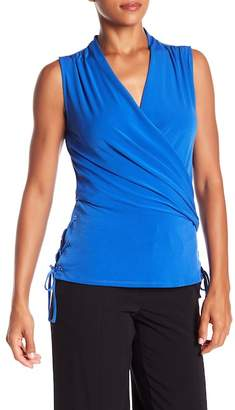 Laundry by Shelli Segal Sleeveless Surplice Top
