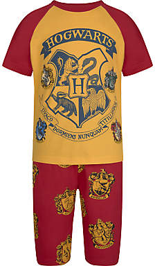 Harry Potter Children's Short Pyjamas, Yellow/Red