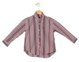 Etro Boys' Striped Button-Up Shirt $45 thestylecure.com