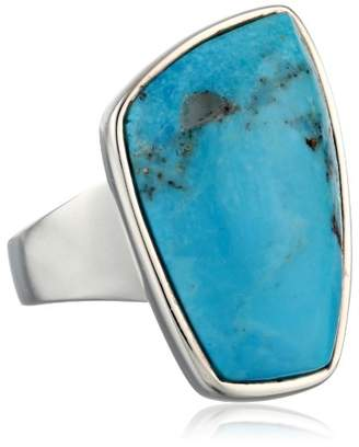 "Barse Basics"" Genuine Abstract Ring"