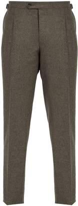 THOM SWEENEY Brook slim-leg wool trousers