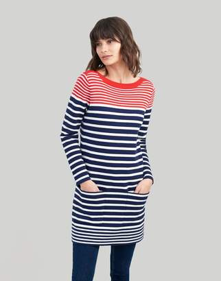 Joules Freida Knitted Tunic with Pockets