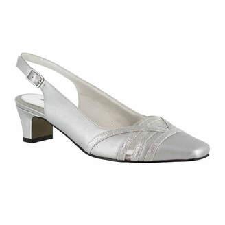 Easy Street Shoes Kristen Womens Pumps Square Toe Kitten Heel