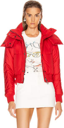 Off-White Off White Down Jacket in Red | FWRD