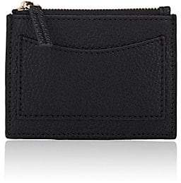 Barneys New York WOMEN'S COIN-PURSE CARD CASE - BLACK