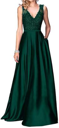 Little Star Women's Purple Prom Dresses019 Long Off The Shoulder Evening Gowns Formal Dresses Bridesmaid Dresses A Line Satin Party Ball Gowns