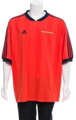 Gosha Rubchinskiy x adidas Short Sleeve V-Neck Jersey