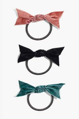 Country Road Bow Hair Tie Pack of 3
