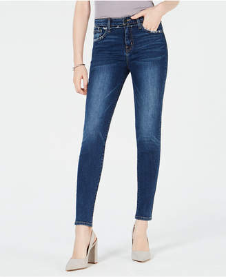 Flying Monkey Frayed-Yoke Skinny Jeans
