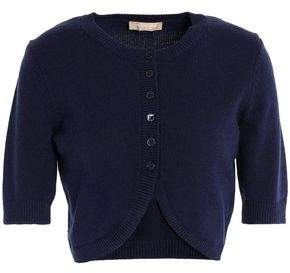 Michael Kors Cropped Cashmere Cardigan