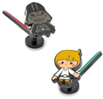 Cufflinks Inc. Cufflinks, Inc. Luke & Darth Vader Cuff Links