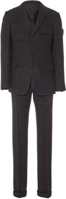 Ralph Lauren Pleated Houndstooth Suit