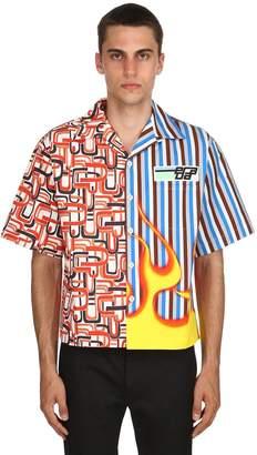 Prada Cotton Poplin Bowling Shirt