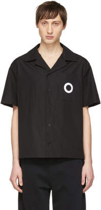Craig Green Black Embroidered Hole Shirt