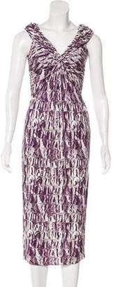 Giambattista Valli Printed Midi Dress w/ Tags
