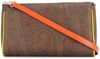 Etro paisley pattern shoulder bag