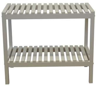 Laundry by Shelli Segal Odessa 2 Tier Wide Bathroom Bench