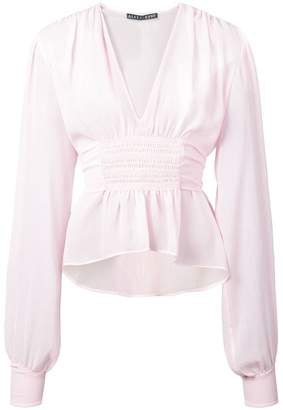 ALEXACHUNG Alexa Chung smock blouse