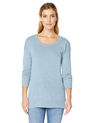 Amazon Essentials Women's Scoopneck Tunic Sweater