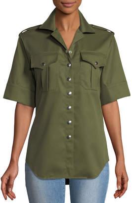 Marques Almeida Marques'almeida Snap-Front Safari Shirt