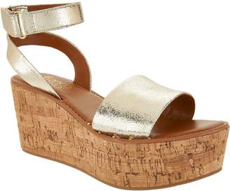 Franco Sarto Ankle Strap Wedges - Jovie
