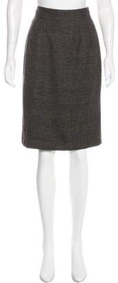 Dolce & Gabbana Wool Knee-Length Skirt