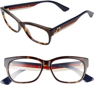 Gucci 55mm Optical Glasses
