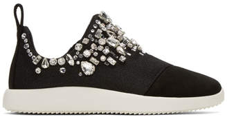 Giuseppe Zanotti Black Singleg Slip-On Sneakers