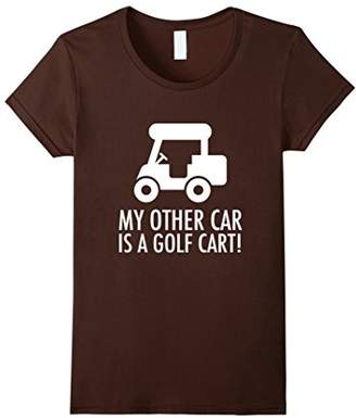 My Other Car Is A Golf Cart | Funny Golf T-Shirt Gift